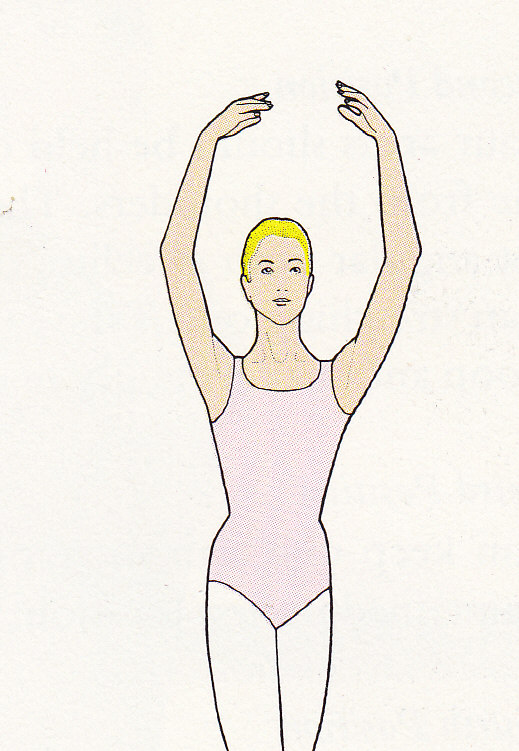 Ballet Positions Illustrations - The Arm And Foot Positions Explained