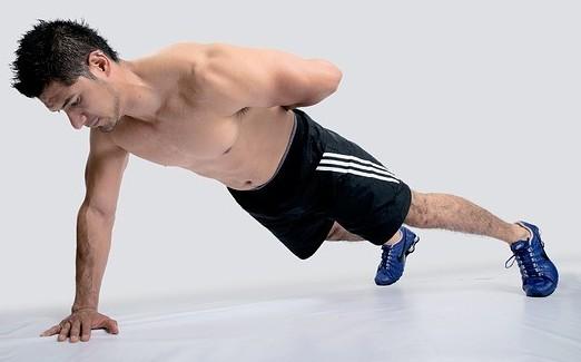 core strengthening exercise